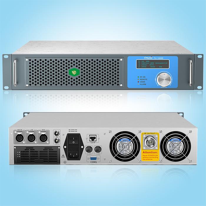 FMUSER FU-1000D 1000W nadajnik FM do nadawania radiowego