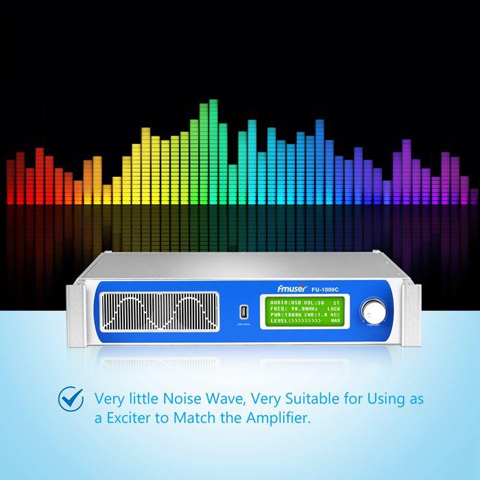 1000w FM transmetues stacioni radio