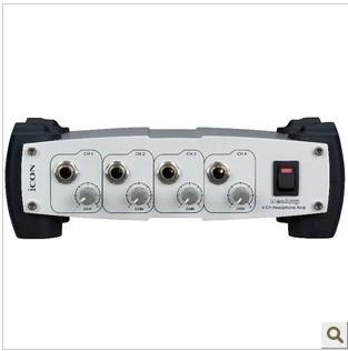 ICON NeoAmp Channel Earphone 4-veis forsterkerdistributør