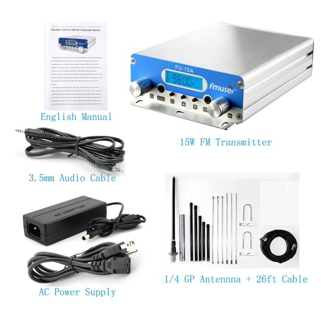 transmetues fm për transmetim radio